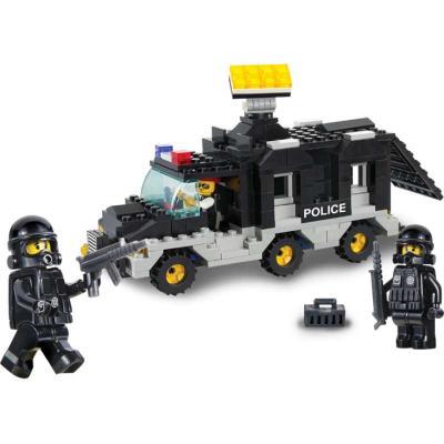 Конструктор SLUBAN Транспортное средство команды 206 элементов M38-B1900