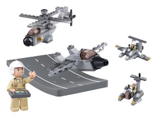 Конструктор SLUBAN 3 в 1 Army 104 элемента M38-B0537H 0587 sluban army series 8 in 1 military tank truck model building blocks enlighten diy figure toys for children compatible legoe
