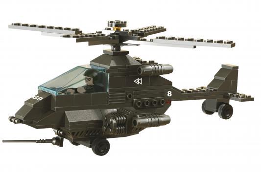 Купить Конструктор SLUBAN Вертолет АПАЧИ 158 элементов M38-B6200, Пластмассовые конструкторы