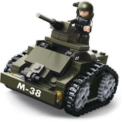 Конструктор SLUBAN Броневик М-38, 151 элемент M38-B0587C sluban 38 0103мв