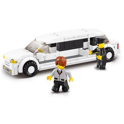 Конструктор SLUBAN Лимузин 135 элементов M38-B0323 M38-B0323