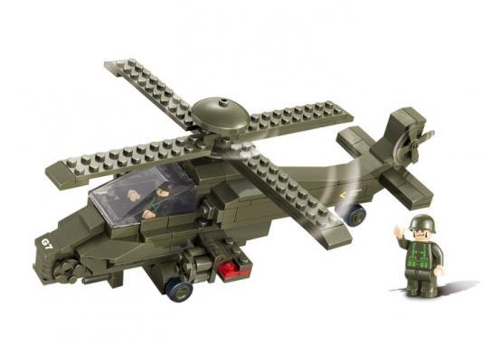 Конструктор SLUBAN Вертолет 199 элементов M38-B0298 цена