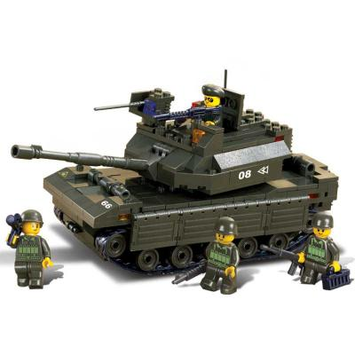 Конструктор SLUBAN Головной танк 312 элементов M38-B6500