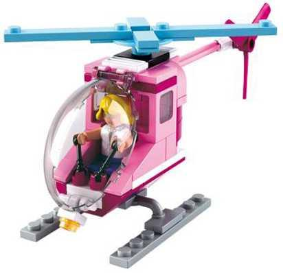 Конструктор SLUBAN Вертолет 78 элементов M38-B0600D конструктор класата вертолет тыр тыр 1316