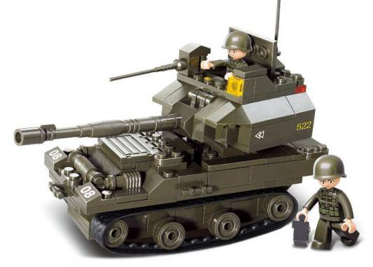 Конструктор SLUBAN Танк 178 элементов M38-B0282