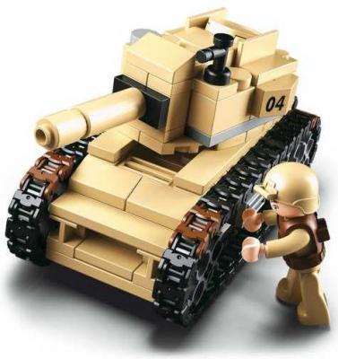 Конструктор SLUBAN Танк 158 элементов M38-B0587B
