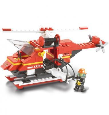Конструктор SLUBAN Вертолет 155 элементов M38-B0218 цена