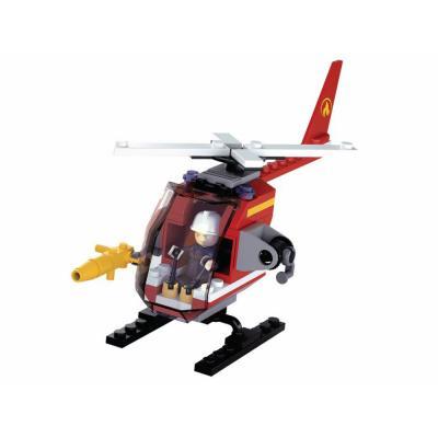 Конструктор SLUBAN Вертолет 80 элементов M38-B0622D цена