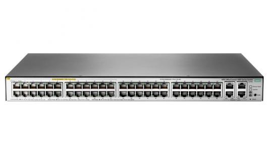 Коммутатор HP HPE 1850 48G 4XGT PoE+ 370W Switch коммутатор hp hp e2915 8g poe switch