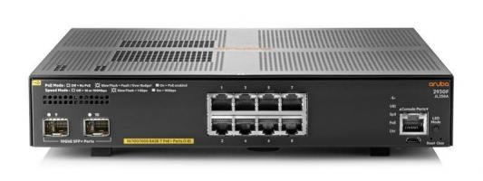 Коммутатор HP Aruba 2930F 8G PoE+ 2SFP+ Swch коммутатор hp hp e2915 8g poe switch
