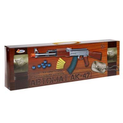 Автомат Играем вместе АК-47 коричневый B1595554-R автомат играем вместе ак 47 черный оранжевый b1397410 r