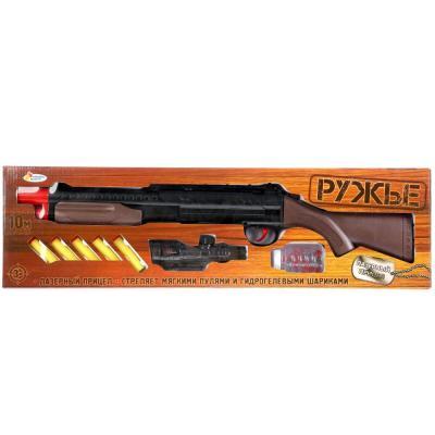 Купить Ружье Играем вместе РУЖЬЕ черный коричневый 1610G358-R, черный, коричневый, 5x65x18 см, для мальчика, Игрушечное оружие