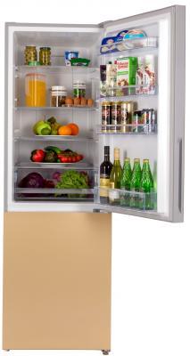 Холодильник HIBERG RFC-311DX NFGY золотистый холодильник hiberg rfq 490dx nfgy