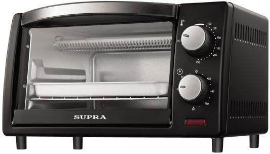 Мини-печь Supra MTS-1001 10л. 800Вт черный мини печь supra mts 2001b