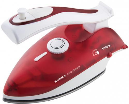 Утюг Supra IS-2702 1000Вт красный белый