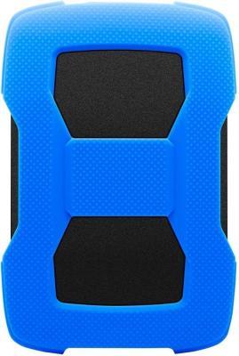 Жесткий диск A-Data USB 3.0 1Tb AHD330-1TU31-CBL HD330 DashDrive Durable 2.5 синий жесткий диск a data usb 3 0 4tb ahd330 4tu31 crd hd330 dashdrive durable 2 5 красный