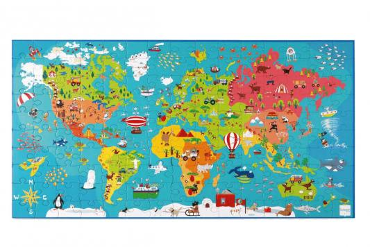 Пазл SCRATCH 6181076 Карта мира пазл 3000 карта мира 1375г авраам крескес 16355