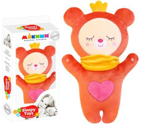 Мягкая игрушка МЯКИШИ 432 Sleepy Toys Мишка мякиши мягкая книжка игрушка веселое