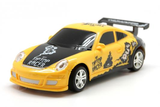 Машинка на радиоуправлении Balbi Автомобиль желтый от 6 лет пластик, металл RCS-2401 B военный автомобиль на радиоуправлении tongde в72398 пластик от 3 лет зелёный