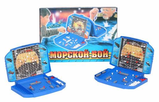 Настольная игра Биплант Морской бой Морской бой, 28 ? 39 ? 4 см, Игры для компании  - купить со скидкой
