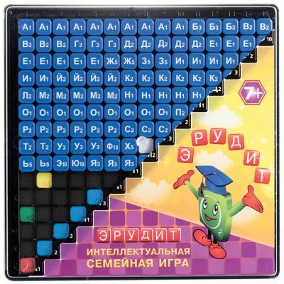 Настольная игра Биплант семейная Эрудит. Синие фишки биплант биплант настольная игра эрудит easy english подарочный