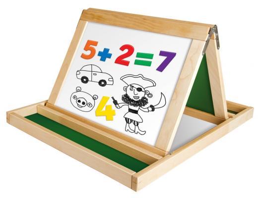 Двусторонняя доска для рисования Десятое Королевство №14 02045 двусторонняя доска для рисования play smart доска знаний a553 h27027