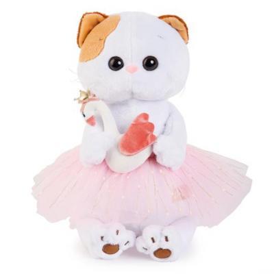 цены Мягкая игрушка BUDI BASA LK24-006 Ли-Ли балерина с лебедем 24см