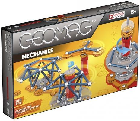 все цены на Магнитный конструктор Geomag Mechanics 146 элементов