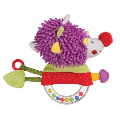 Погремушка HAPPY BABY 330356 FUNNY HEDGEHOG happy baby happy baby развивающая игрушка руль rudder со светом и звуком