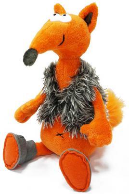 Купить Мягкая игрушка ДуRашки Хитрый Лис & Valenki искусственный мех плюш оранжевый 26 см, искусственный мех, плюш, Животные