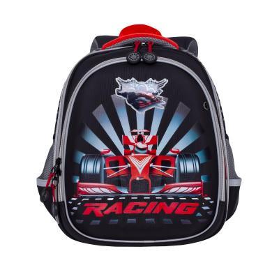 Купить Рюкзак GRIZZLY RA-878-7/1 Гонка (черный), полиэстер, Ранцы, рюкзаки и сумки