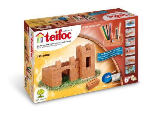 Конструктор TEIFOC Крепость-карандашница TEI 4000 карандашница star hx1013