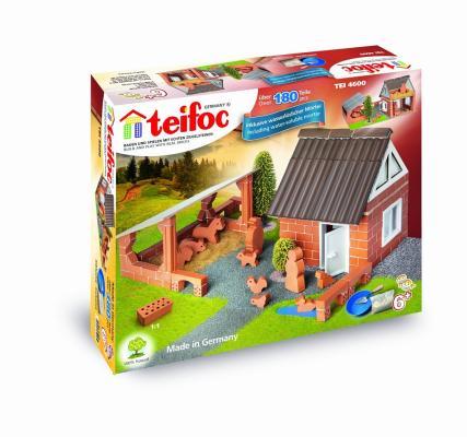 Конструктор TEIFOC Ферма 180 элементов TEI 4600 teifoc конструктор из кирпичиков teifoc серпантин 210 деталей