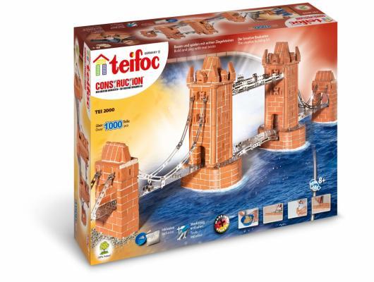 Конструктор TEIFOC Башенный мост 1000 элементов пазл 1000 томас кинкейд мост 57466
