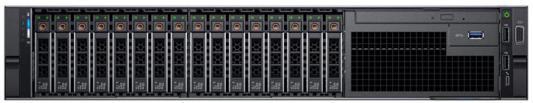 Сервер Dell PowerEdge R740 2xGold 5120 2x32Gb x16 1x1.2Tb 10K 2.5 SAS H730p FP iD9En 5720 4P 2x750W 3Y PNBD (R740-3523) сервер dell poweredge r740 1xsilver 4114 1x16gb x16 1x600gb 10k 2 5 sas h730p mc id9en 5720 4p 1x75