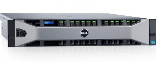 "Сервер Dell PowerEdge R730 x8 3.5"" RW H730 iD8En 1G 4P 2x750W 3Y PNBD (210-ACXU-322) цена в Москве и Питере"