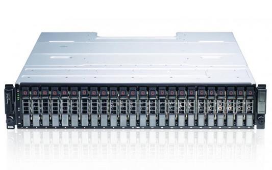 Дисковая полка Dell MD1220 x24 2x1Tb 7.2K 2.5 NL SAS 2x600W PNBD 3Y 2x1m Cab SAS (210-30718-52) дисковая полка dell pv md1220 210 30718 41
