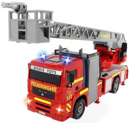 Пожарная машина Dickie Пожарная красный 3715001 машина фрикционная большегрузная коммунальная техника dickie 25см синяя