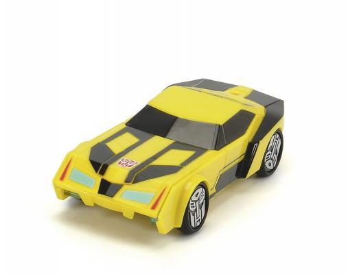 Автомобиль Dickie Трансформер Bumblebee желтый 3113000 машинка трансформеры перевертыш dickie bumblebee на р у 1 16 25см