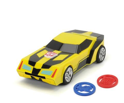 Автомобиль Dickie Боевая Bumblebee желтый 3114003 машинка трансформеры перевертыш dickie bumblebee на р у 1 16 25см