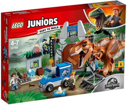 Конструктор LEGO Jurassic World Побег Ти-Рекса 150 элементов lego jurassic world team pack