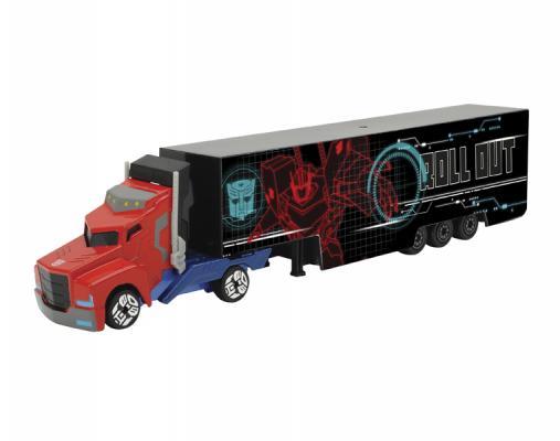 Функциональная машинка Majorette Optimus Prime 20см черный 3113006 врумиз машинка банги функциональная