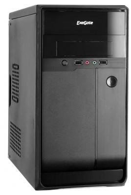 Корпус microATX Exegate BA-109 500 Вт чёрный (EX267187RUS)