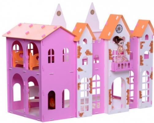 Домик KRASATOYS 000261 для кукол Замок Джульетты замок для кукол 3218041 складной