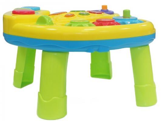 Купить Интерактивная игрушка MY ANGEL Развивающий столик от 1 года, разноцветный, 32 см, металл, пластик, унисекс, Интерактивные игрушки