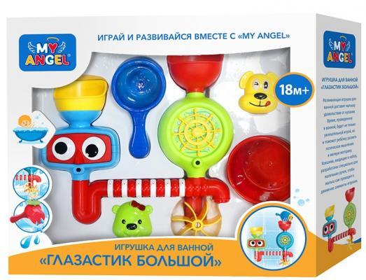 Купить Интерактивная игрушка MY ANGEL Глазастик большой от 18 месяцев, разноцветный, 31.5 см, металл, пластик, унисекс, Интерактивные игрушки