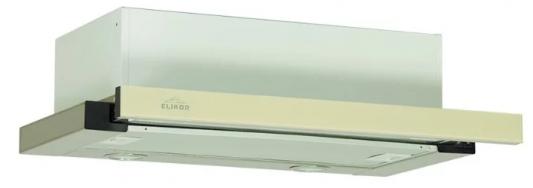 Вытяжка встраиваемая Elikor GL 60Н-400-В2Д бежевый