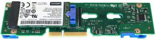 Адаптер Lenovo 7Y37A01092 ThinkSystem M.2 Enablement Kit адаптер lenovo thinkserver lpe1250 single port 8gb fibre channel hba by emulex 0c19476
