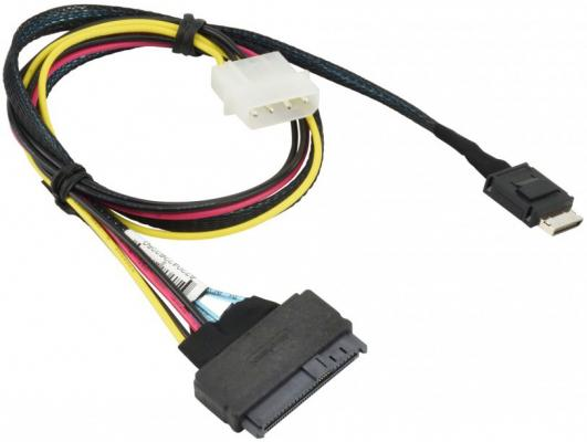 Кабель SuperMicro CBL-SAST-0956 55cm OCuLink to U.2 PCIE SFF-8639 with Power Cable playstation 2 ps2 to wii controller adapter 13 5cm cable