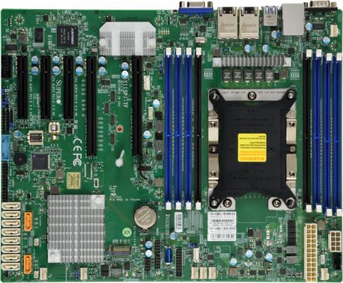 Материнская плата Supermicro MBD-X11SPI-TF-O Socket 3647 C622 8xDDR4 2xPCI-E 16x 1xPCI-E 4x 2xPCI-E 8x 8 ATX Retail цена и фото